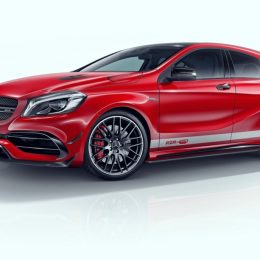 Introducing the RevoZport Mercedes A45 AMG facelift aerokit