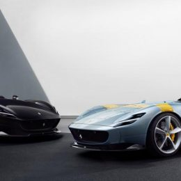 The Ferrari Monza SP1 and SP2