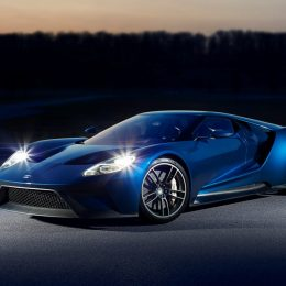 Production of the Ford GT began in December 2016