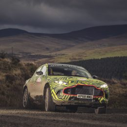 The Aston Martin DBX SUV Prototype