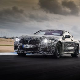 The new BMW M8 en route to series production