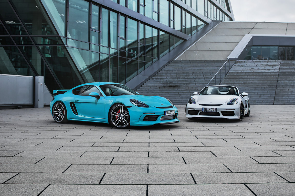 TECHART lets all 4-cylinder 718 owners catch up with the GT class