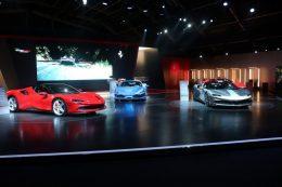 Universo Ferrari exhibition opens its doors