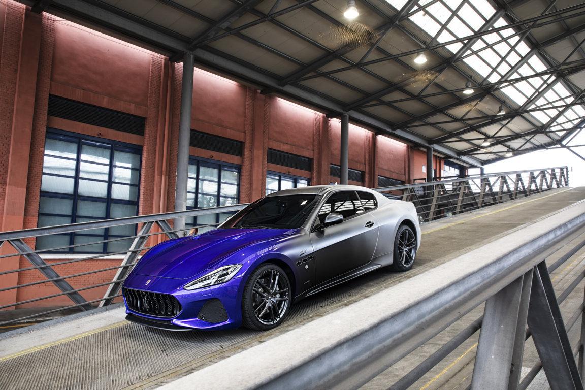 GranTurismo Zeda created to celebrate the last day of production of the Maserati GranTurismo