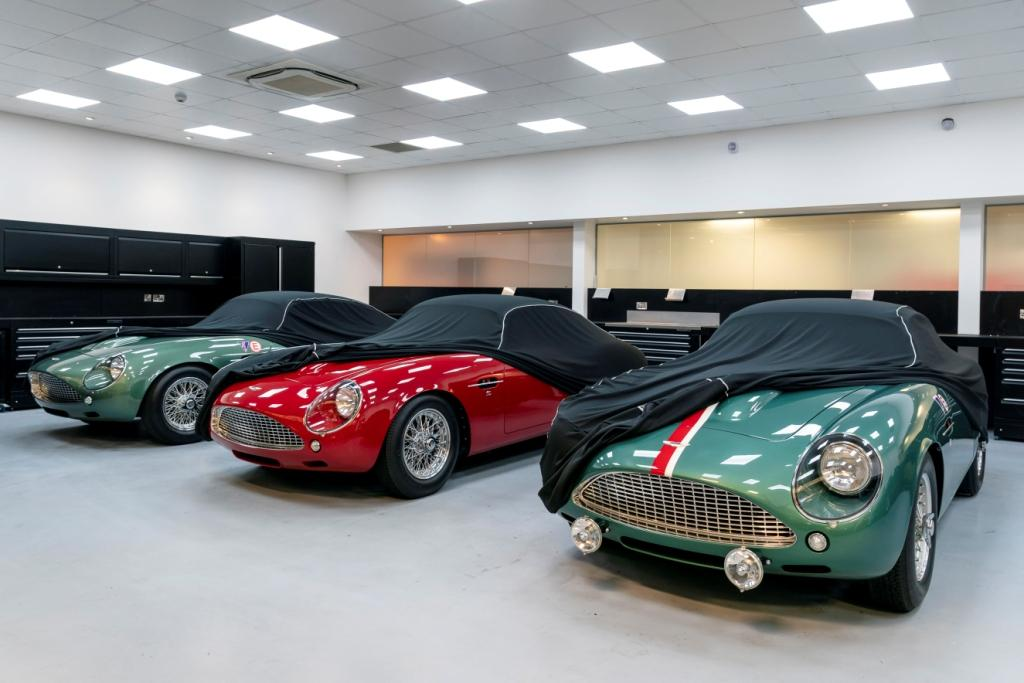 First deliveries of the DB4 GT Zagato Continuation