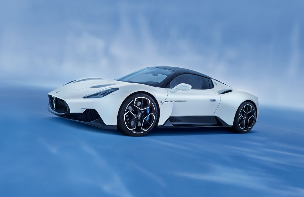 Introducing the Maserati MC20 new super sports car