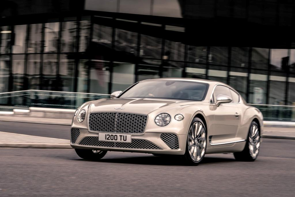 New Continental GT Mulliner coupe debuts at Salon Privé