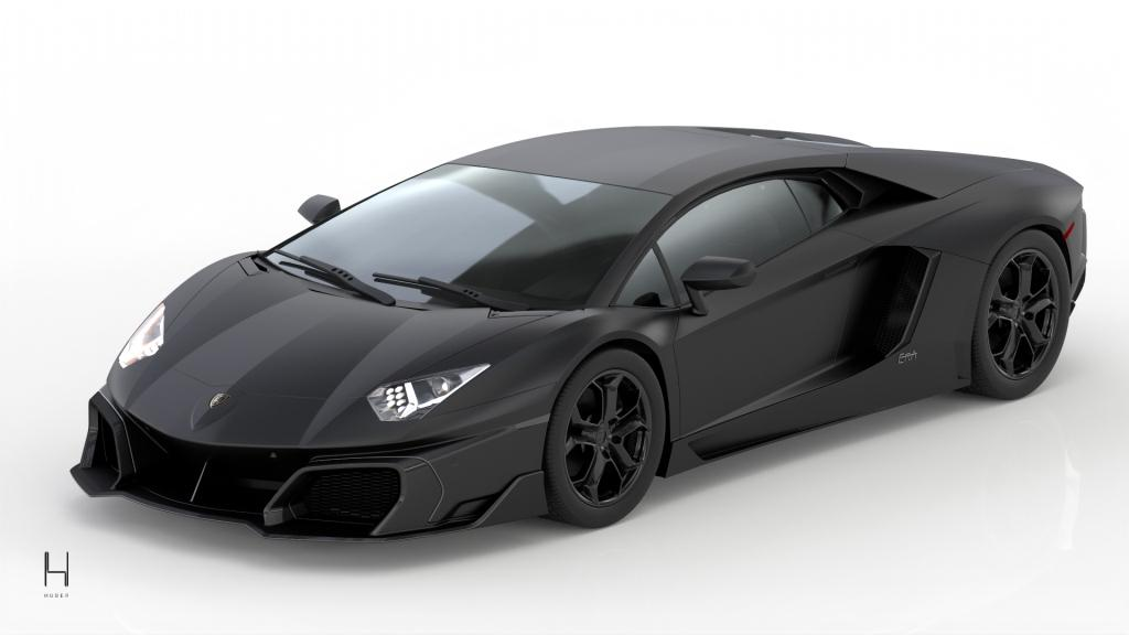 Huber pays homage to the Lamborghini Aventador and reveals the ERA