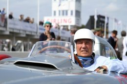 Goodwood to celebrate the life and career of Sir Stirling Moss at its 2021 events
