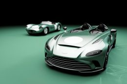 Thrilling new optional bespoke specification revealed for limited edition Aston Martin V12 Speedster