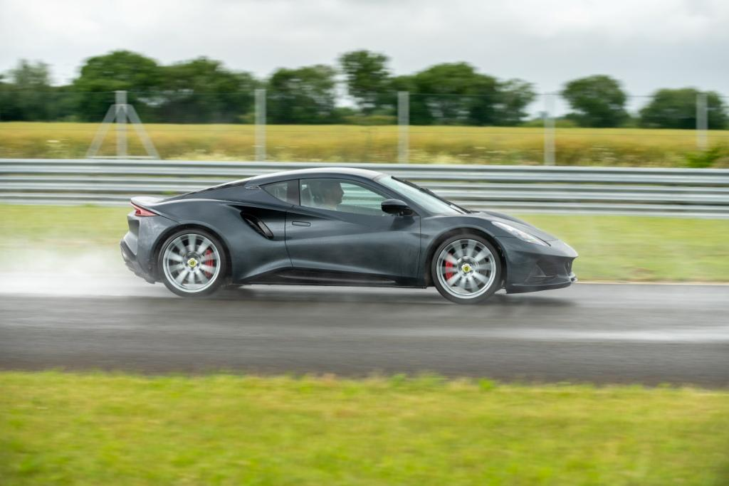 Jenson Button delivers his verdict after exclusive world-first Lotus Emira test drive