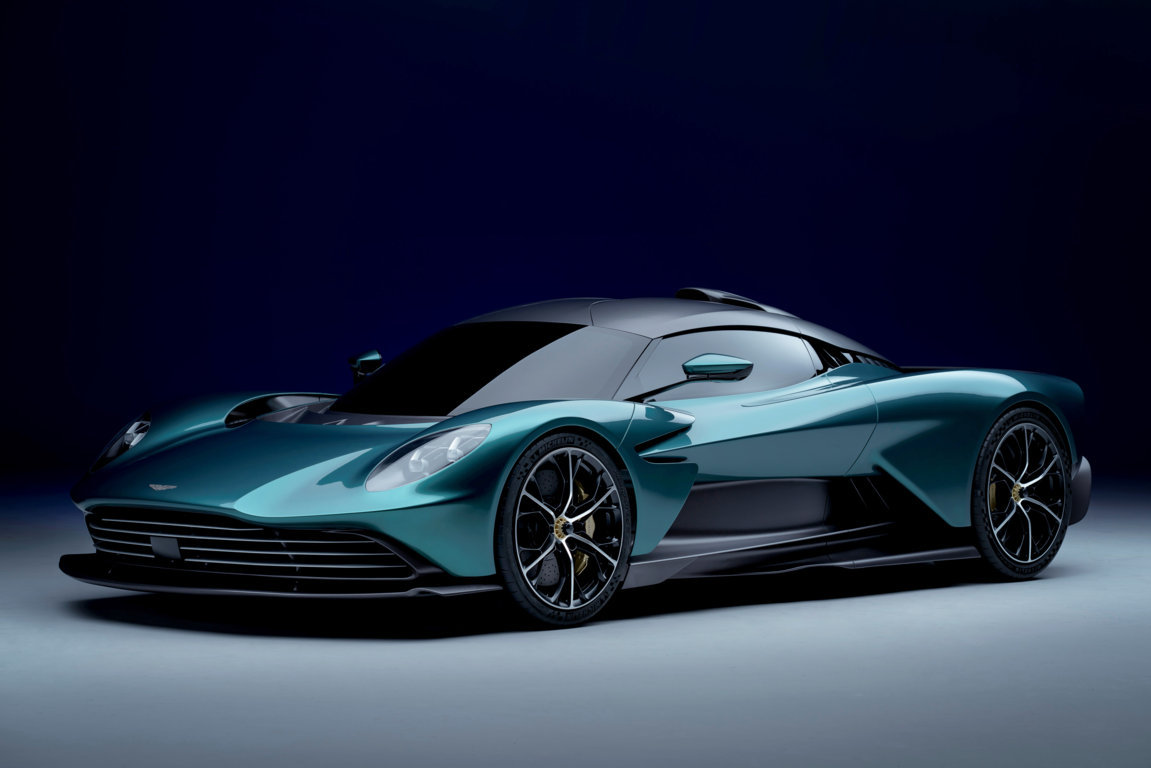 The sensational hybrid Valhalla supercar defines the mastery of driving
