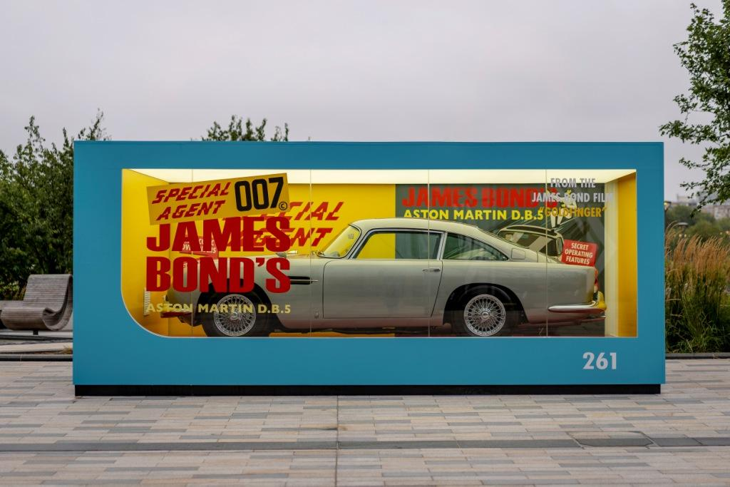 Aston Martin launch No Time To Die campaign and unveil giant Corgi box complete with iconic DB5