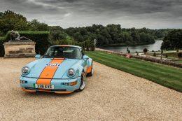 Everrati debuts electric Porsche Gulf Signature Edition at Salon Privé