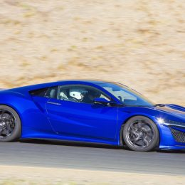 Blue 2016 Honda NSX