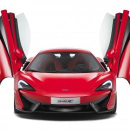 McLaren 540C Front Doors Up