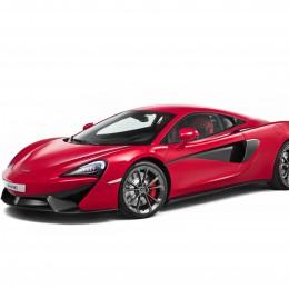 McLaren 540C Front Side