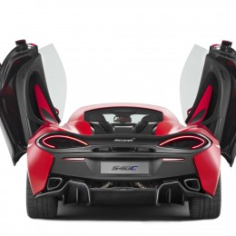McLaren 540C Rear Doors Up