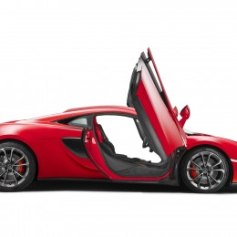McLaren 540C Side Doors Up