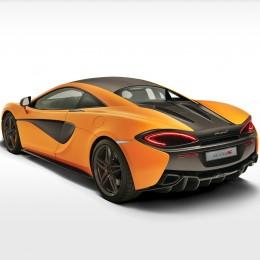 McLaren 570S Rear Side