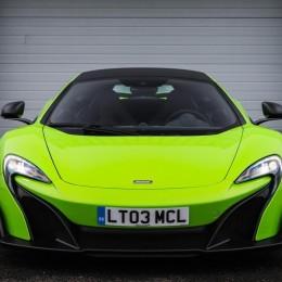 McLaren 675LT front