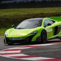McLaren 675LT track