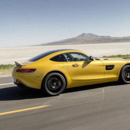 Yellow-Mercedes-AMG-GT-Action